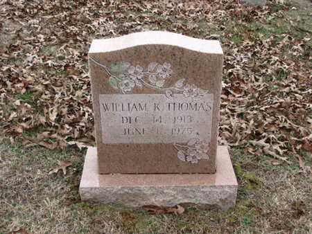 THOMAS, WILLIAM K. - Blount County, Tennessee | WILLIAM K. THOMAS - Tennessee Gravestone Photos