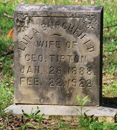 BURCHFIELD TIPTON, LULA - Blount County, Tennessee | LULA BURCHFIELD TIPTON - Tennessee Gravestone Photos