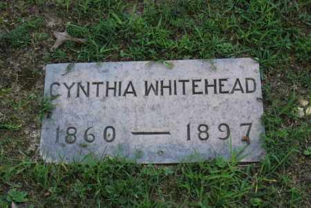 WHITEHEAD, CYNTHIA - Blount County, Tennessee | CYNTHIA WHITEHEAD - Tennessee Gravestone Photos