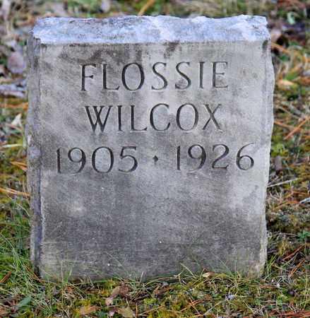 WILCOX, FLOSSIE - Blount County, Tennessee | FLOSSIE WILCOX - Tennessee Gravestone Photos