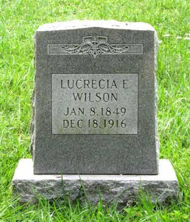 WILSON, LUCRECIA E - Blount County, Tennessee | LUCRECIA E WILSON - Tennessee Gravestone Photos