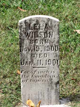 WILSON, LELA - Blount County, Tennessee | LELA WILSON - Tennessee Gravestone Photos