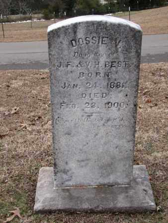 BEST, DOSSIE V. - Blount County, Tennessee | DOSSIE V. BEST - Tennessee Gravestone Photos