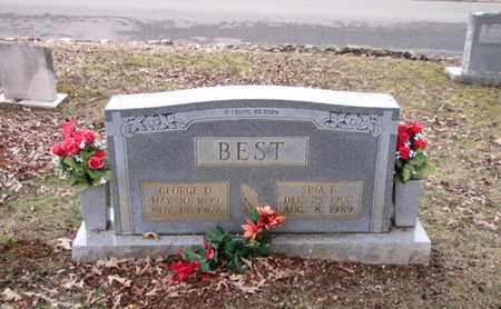 BEST, SINA F. - Blount County, Tennessee | SINA F. BEST - Tennessee Gravestone Photos