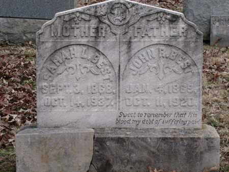 BEST, SARAH L. - Blount County, Tennessee | SARAH L. BEST - Tennessee Gravestone Photos