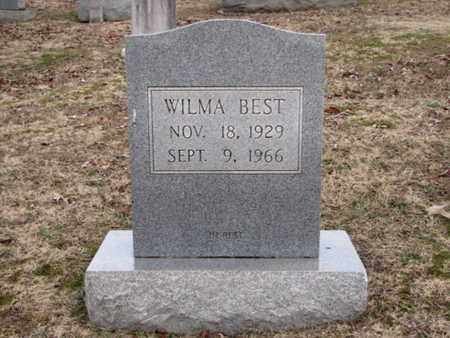 BEST, WILMA - Blount County, Tennessee   WILMA BEST - Tennessee Gravestone Photos