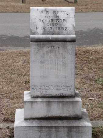 BEST, W. R. - Blount County, Tennessee | W. R. BEST - Tennessee Gravestone Photos