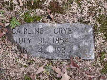 CRYE, CAIRLINE - Blount County, Tennessee | CAIRLINE CRYE - Tennessee Gravestone Photos