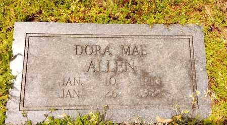 ALLEN, DORA MAE - Bradley County, Tennessee | DORA MAE ALLEN - Tennessee Gravestone Photos