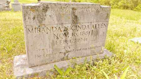 ALLEN, MIRANDA LUCINDA - Bradley County, Tennessee | MIRANDA LUCINDA ALLEN - Tennessee Gravestone Photos