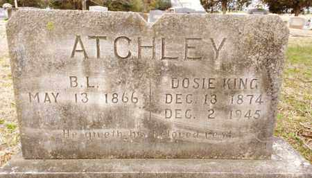"KING ATCHLEY, THEODOSIA ""DOSIE"" - Bradley County, Tennessee 