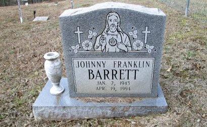 BARRETT, JOHNNY FRANKLIN - Bradley County, Tennessee | JOHNNY FRANKLIN BARRETT - Tennessee Gravestone Photos