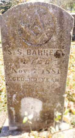 BARRETT, SIMEON S. - Bradley County, Tennessee | SIMEON S. BARRETT - Tennessee Gravestone Photos