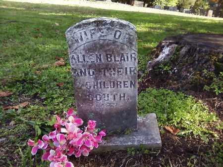 BLAIR, UNKNOWN - Bradley County, Tennessee | UNKNOWN BLAIR - Tennessee Gravestone Photos