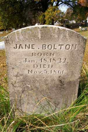 BOLTON, JANE - Bradley County, Tennessee | JANE BOLTON - Tennessee Gravestone Photos