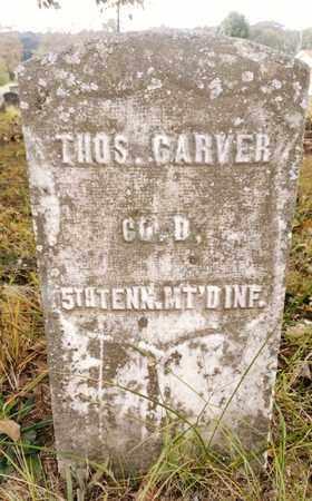 CARVER   (VETERAN UNION), THOMAS - Bradley County, Tennessee   THOMAS CARVER   (VETERAN UNION) - Tennessee Gravestone Photos