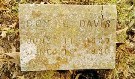 DAVIS, ROY L. - Bradley County, Tennessee | ROY L. DAVIS - Tennessee Gravestone Photos