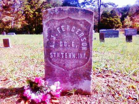 FERGERSON   (VETERAN UNION), ANDREW J - Bradley County, Tennessee | ANDREW J FERGERSON   (VETERAN UNION) - Tennessee Gravestone Photos