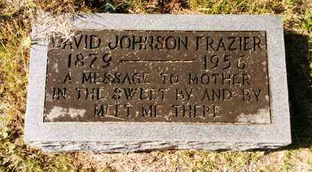 FRAZIER, DAVID JOHNSON - Bradley County, Tennessee | DAVID JOHNSON FRAZIER - Tennessee Gravestone Photos