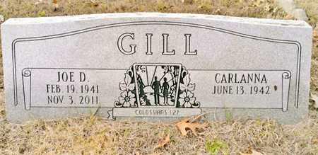 GILL, JOE D. - Bradley County, Tennessee | JOE D. GILL - Tennessee Gravestone Photos