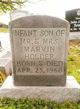 HOLDER, INFANT SON - Bradley County, Tennessee | INFANT SON HOLDER - Tennessee Gravestone Photos