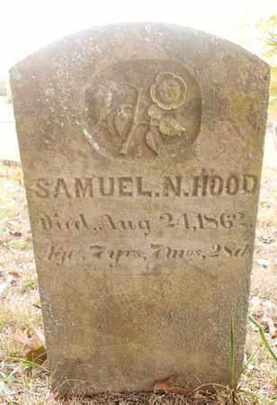 HOOD, SAMUEL N. - Bradley County, Tennessee | SAMUEL N. HOOD - Tennessee Gravestone Photos