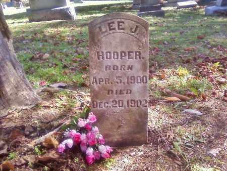 HOOPER, LEE J. - Bradley County, Tennessee | LEE J. HOOPER - Tennessee Gravestone Photos