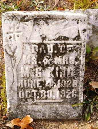 KING, VIRGINIA ELIZABETH - Bradley County, Tennessee   VIRGINIA ELIZABETH KING - Tennessee Gravestone Photos