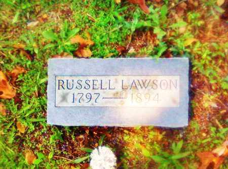LAWSON, RUSSELL - Bradley County, Tennessee | RUSSELL LAWSON - Tennessee Gravestone Photos