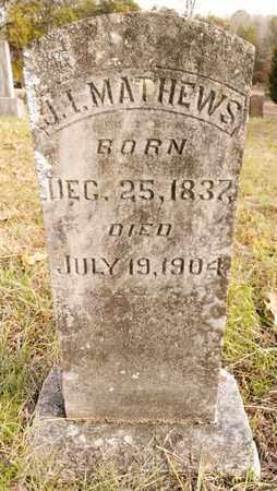 MATHEWS, J.I. - Bradley County, Tennessee | J.I. MATHEWS - Tennessee Gravestone Photos