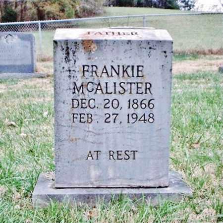 MCALISTER, FRANKIE - Bradley County, Tennessee | FRANKIE MCALISTER - Tennessee Gravestone Photos