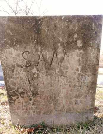 MCALISTER, SAM - Bradley County, Tennessee | SAM MCALISTER - Tennessee Gravestone Photos