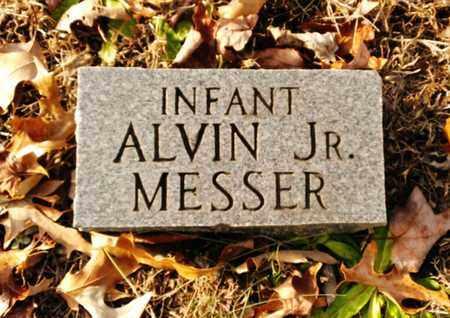 MESSER JR, ALVIN - Bradley County, Tennessee   ALVIN MESSER JR - Tennessee Gravestone Photos