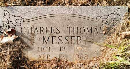 MESSER, CHARLES THOMAS - Bradley County, Tennessee | CHARLES THOMAS MESSER - Tennessee Gravestone Photos