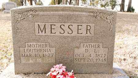 WHALEY MESSER, LOUTHENIA - Bradley County, Tennessee | LOUTHENIA WHALEY MESSER - Tennessee Gravestone Photos