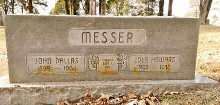 HOWARD MESSER, ZOLA - Bradley County, Tennessee | ZOLA HOWARD MESSER - Tennessee Gravestone Photos