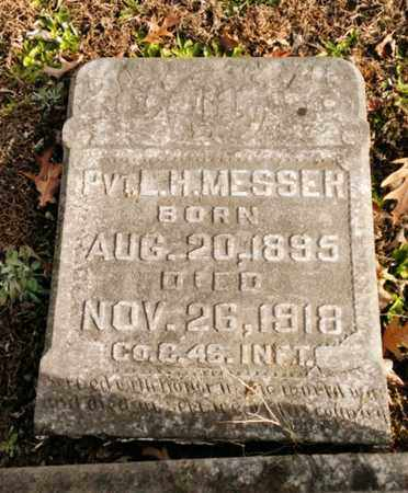 MESSER, LEANDER H. - Bradley County, Tennessee | LEANDER H. MESSER - Tennessee Gravestone Photos