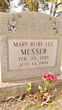 MESSER, MARY RUBY - Bradley County, Tennessee | MARY RUBY MESSER - Tennessee Gravestone Photos