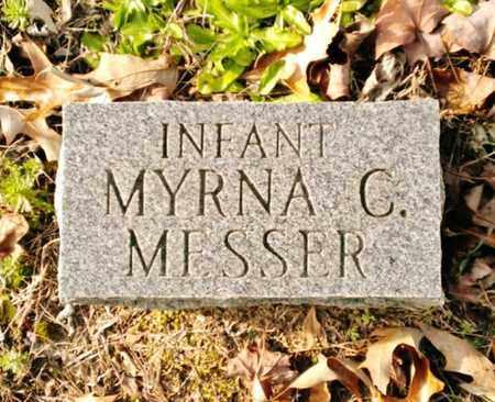 MESSER, MYRNA CALDONIA - Bradley County, Tennessee | MYRNA CALDONIA MESSER - Tennessee Gravestone Photos