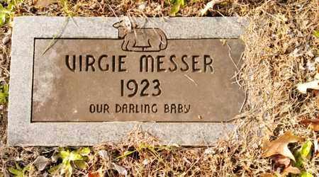 MESSER, VIRGIE - Bradley County, Tennessee   VIRGIE MESSER - Tennessee Gravestone Photos