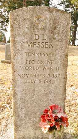 MESSER  (VETERAN WWII), D.L. - Bradley County, Tennessee | D.L. MESSER  (VETERAN WWII) - Tennessee Gravestone Photos