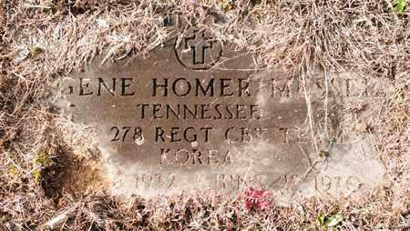 MESSER  (VETERAN KOR), EUGENE HOMER - Bradley County, Tennessee   EUGENE HOMER MESSER  (VETERAN KOR) - Tennessee Gravestone Photos