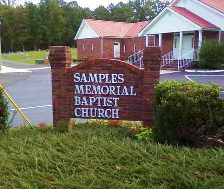 *SAMPLES MEMORIAL CEMETERY,  - Bradley County, Tennessee |  *SAMPLES MEMORIAL CEMETERY - Tennessee Gravestone Photos