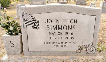 SIMMONS  (VETERAN VIET), JOHN HUGH - Bradley County, Tennessee | JOHN HUGH SIMMONS  (VETERAN VIET) - Tennessee Gravestone Photos