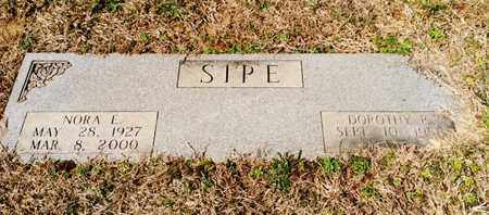SIPE, DOROTHY - Bradley County, Tennessee | DOROTHY SIPE - Tennessee Gravestone Photos