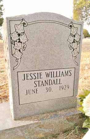 BANKSTON STANDALL, JESSIE WILLIAMS - Bradley County, Tennessee   JESSIE WILLIAMS BANKSTON STANDALL - Tennessee Gravestone Photos