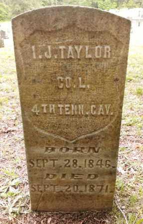 TAYLOR  (VETERAN), ISAAC J - Bradley County, Tennessee | ISAAC J TAYLOR  (VETERAN) - Tennessee Gravestone Photos