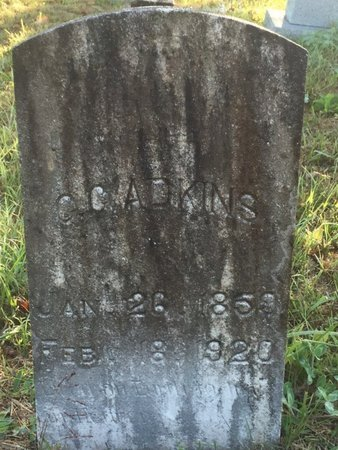 ADKINS, CHRISTOPHER COLUMBUS - Campbell County, Tennessee | CHRISTOPHER COLUMBUS ADKINS - Tennessee Gravestone Photos