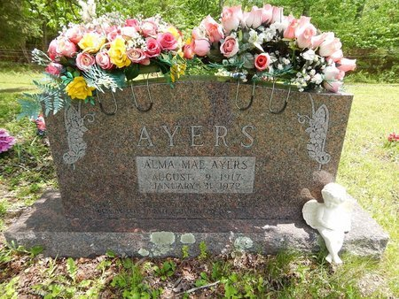 AYERS, ALMA MAE - Campbell County, Tennessee | ALMA MAE AYERS - Tennessee Gravestone Photos