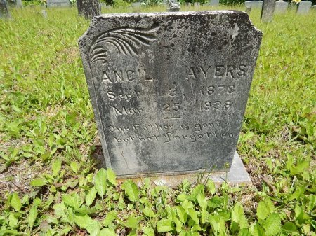AYERS, ANCIL - Campbell County, Tennessee | ANCIL AYERS - Tennessee Gravestone Photos